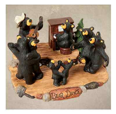 Bearfoots, Bear Dance Figurine Jeff Fleming, Big Sky Carvers, Demdaco