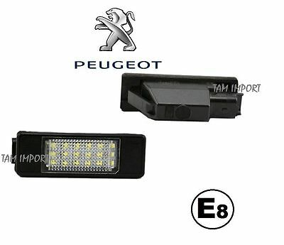 Led Plaque D'Immatriculation Peugeot 407 Neuf --
