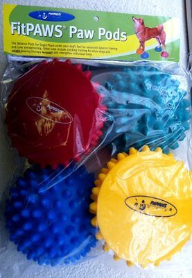 BRAND NEW!!! Ball Dynamics FitPAWS Paw Pods for Dog Agility