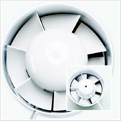 Air Duct Exhaust Inline Booster Fan Hydroponic Blower Fast Ventilation