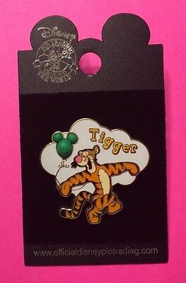 "Tigger from ""Winnie the Pooh"" with Free-D Balloon Disney Pin"