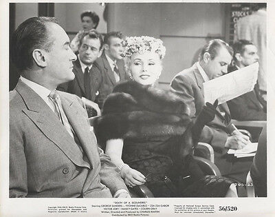 1956 Press Photo From The Film -Death Of A Scoundrel- Starring Zsa Zsa Gabor