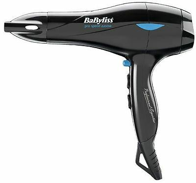 BaByliss 5541CU Pro Speed Professional Salon Hair Dryer 2200W