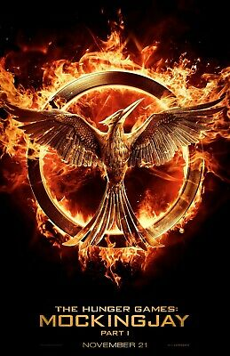 Hunger Games Mockingjay Part 1 Movie 91.5 X 61Cm Poster New Official Merchandise