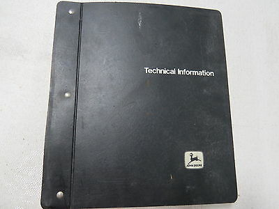 John Deere 70 170 Skid Steer Loader Technical Service Manual Lot of 3 Different