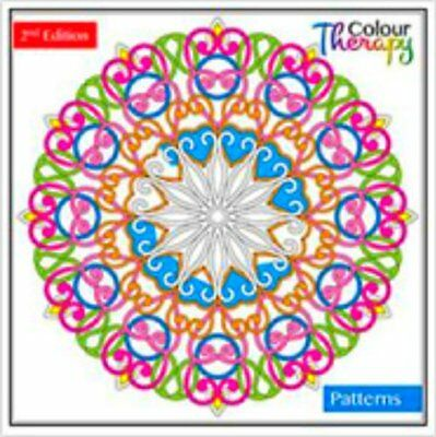 New Design- Colour Therapy Anti-Stress Adult Colouring Books Relaxing 60 Pattern