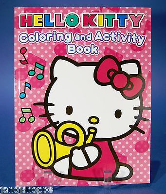Hello Kitty Coloring And Activity Kids Book New