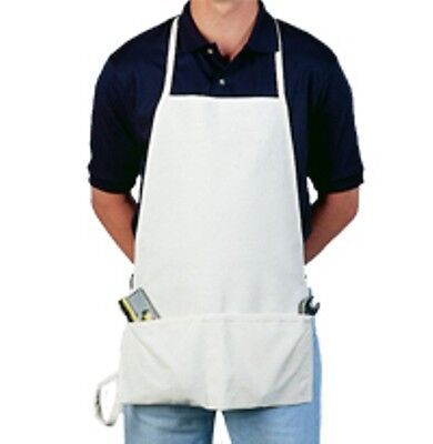 2 Brand NEW Duck Canvas Apron / Carpenter / Shop/ Craft / Work/ Art - Heavy Duty