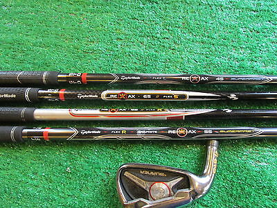 Taylor Made Burner 6 iron 4 shafts &1 head for fitting/ swing training LEFT HAND