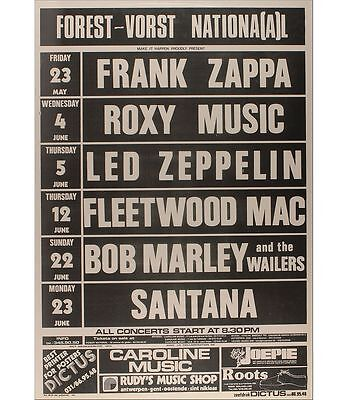 0417 Vintage Music Poster Frank Zappa Roxy Music Led Zeppelin *FREE POSTERS