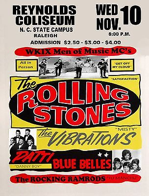 0426 Vintage Music Poster Art - The Rolling Stones