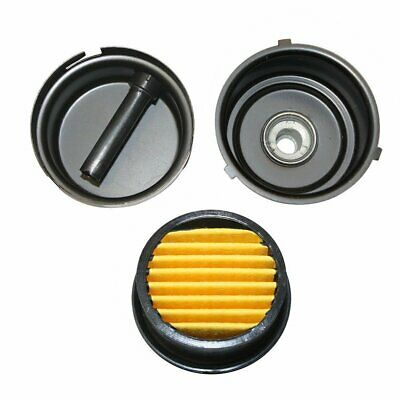 "Compressor Air Filter Replacement 3/8"" MPT Paper Cartridge Metal Body SA143"