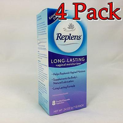 Replens Long Lasting Vaginal Moisturizer, 8ct, 4 Pack 366715830081T1015