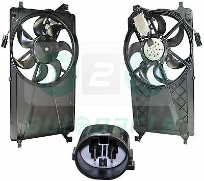 For Ford C-Max 1.6 TDCI, 1.8/Flexi Fuel (2007-2010) Radiator Cooling Fan Motor