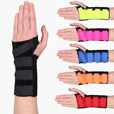 Solace Bracing Cool-Flow Stomatex Carpel tunnel Sprain Pain Wrist Brace Support