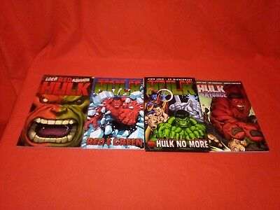 HULK VOL 1 3 4 RED HULK 1 -6 HULK NO MORE 10 -13 600 HULK vs X-FORCE 14 -18 TPB