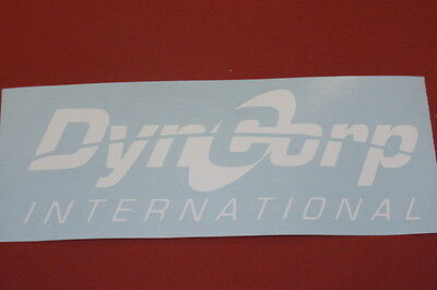 """DynCorp (2 pack) International decal 6"""" choose color  blackwater academi"""