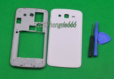 New white Housing Cover Case For Samsung Galaxy Grand 2 G7106 G7102 G7105