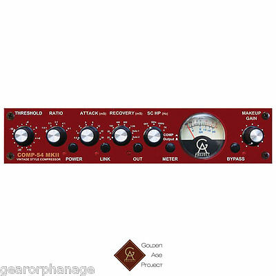 Golden Age Project Comp-54 MKII Single Channel Compressor NEW Comp54 MK-II MK2