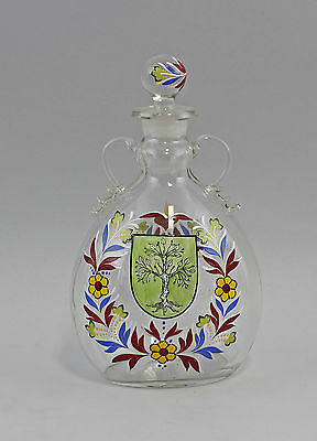 Email-painted Carafe florales Motif 9935944