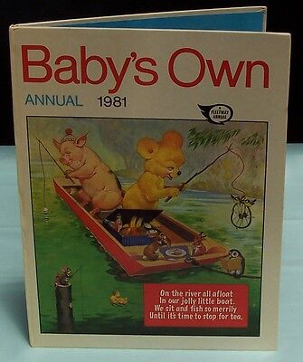 Baby's Own Annual 1981. Fleetway England  850376300