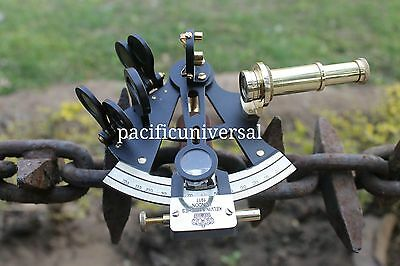 Nautical Marine Sextant Maritime Vintage Brass Working Navigation Sextant Decor.