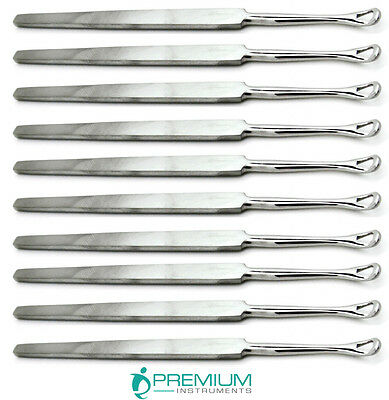 10 Pcs Pro Ear Cleaners Wax Removing Ear Pick Health Care Stainless Steel Tool