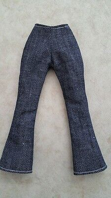 Handmade NEW Beautiful DENIM TROUSERS for BARBIE DOLLS