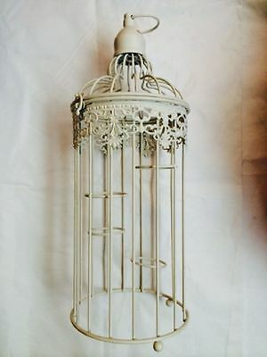 New Vintage Rustic Classic Birdcage Tealight Holder Ornament *No Tealights*