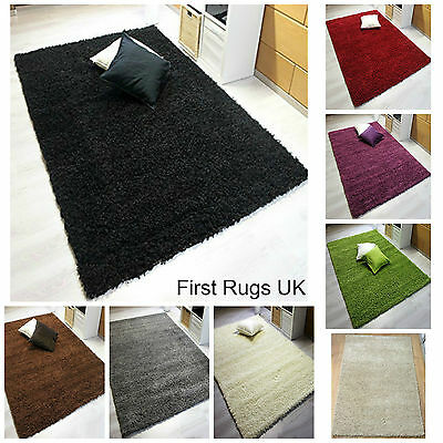 New Cheap Modern Shaggy Thick Soft Long Pile Rugs