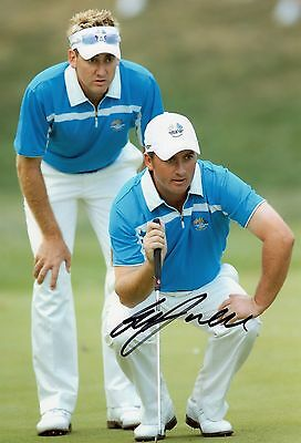 Graeme McDowell Signed Golf Photo Ryder Cup GMac AFTAL RD175