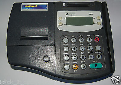 ingenico Fortronic TT41 PDQ Barclays Merchant Card Payment Device Chip &Pin
