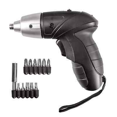 3.6V 12Pc Rechargeable Cordless Electric Screwdriver Power Bit Set Kit Screw