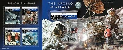 Z08 SLM15517ab SOLOMON ISLANDS 2015 Space Imperforated Set