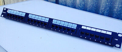 Systimax Avaya Lucent Cat 6  Patch Panel For Network Router Switch Phone