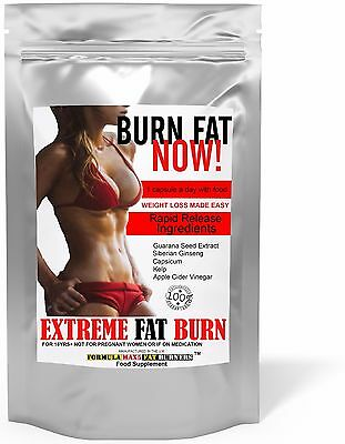 Fast Weight Loss Pills Fat Burners Rapid Tablets Diet Slimming Buy 2 Get 1 Free