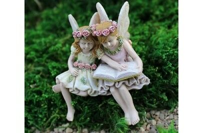 "2.75"" My Fairy Gardens Mini Figure - Paige & Phoebe - Fairies Miniature Figurine"