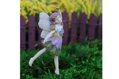 "3.75"" My Fairy Gardens Mini Figure Pick - Sophia - Dancing Miniature Figurine"
