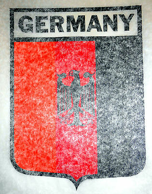 "Vintage 1974 Roach ""GERMANY"" Shield Iron-on Transfer"