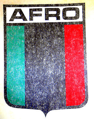 "Vintage 1974 Roach ""AFRO"" Shield Iron-on Transfer"
