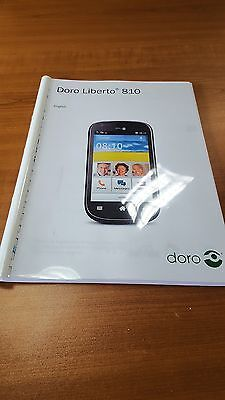 Doro Phone Liberto 810 Printed Instruction Manual User Guide 56 Pages