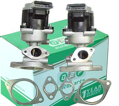 PAIR of EGR Valves LR018324-23 for Landrover Discovery and Range Rover 2.7 TDVM