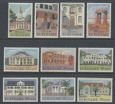 Suriname 1961 ** Mi.396/05 Gebäude Buildings Kirche Church Palast [sq4913]