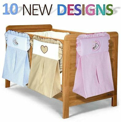 Nappy Stacker / Diaper Bag Match Baby Nursery Crib Cot Cot Bed Bedding - Hearts