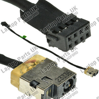 Hp 255 G3 90W Power Connector W/ Cable Dc Socket Jack Port