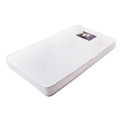 New Babyrest Am12/69 130X69Cm Cotton Cot Mattress Waterproof Crib Baby Bed White