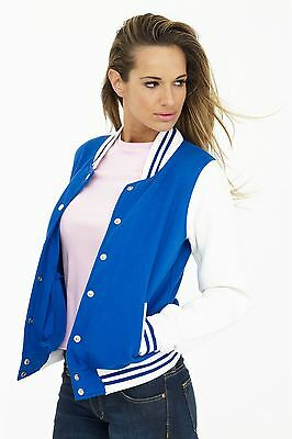 Uneek Clothing-Womens-Ladies Varsity Jacket-300 gsm