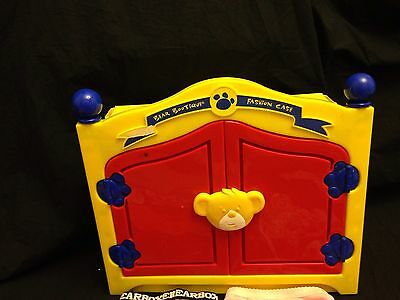 Build A Bear Armoire Clothing Shoes Closet Storage Case & 35 Accessories