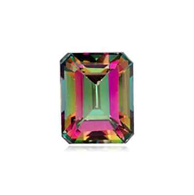 Natural Mystic Green Topaz Octagon AAA TOP QUALITY(6x4 - 18x13mm)Loose Stone