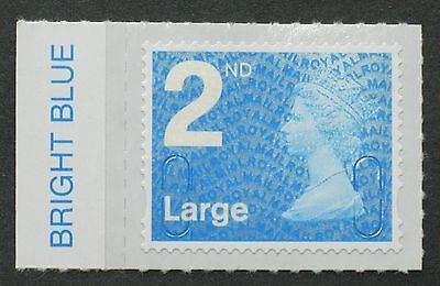 2016 - M16L - 2nd LARGE NVI  - BRIGHT BLUE - Colour Tab  from Counter Sheet